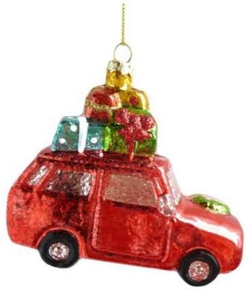 Елочная игрушка Новогодняя сказка Машинка 11,5 см