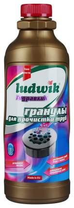 Средство для очистки труб и сливов Ludwik гидравлик гранулы 1000 г