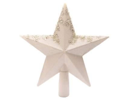 Kaemingk Верхушка Звезда 19 см белая 029012