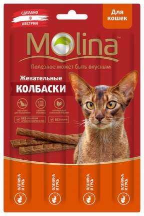 Лакомство для кошек Molina, гусь, оленина, 1шт, 0,02кг