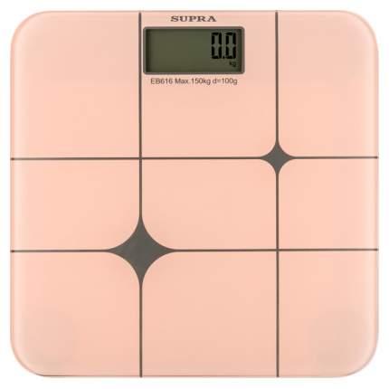 Весы напольные Supra BSS-5004 Розовые