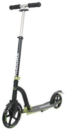 Самокат Hudora Big Wheel Bold Cushion зеленый/черный
