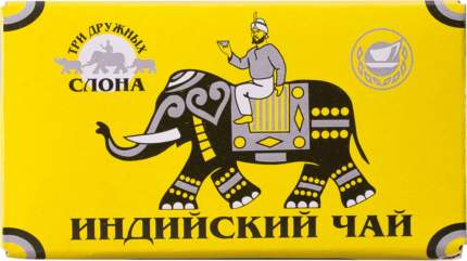 Чай черный Три дружных слона индийский мелколистовой 100 г