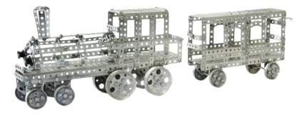 Конструктор металлический Поезд 860 деталей Тридевятое царство