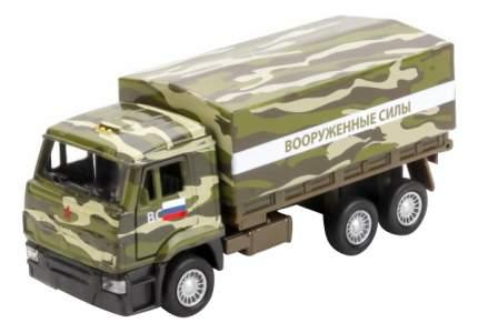 Машина военная Технопарк Камаз 65207 Военный