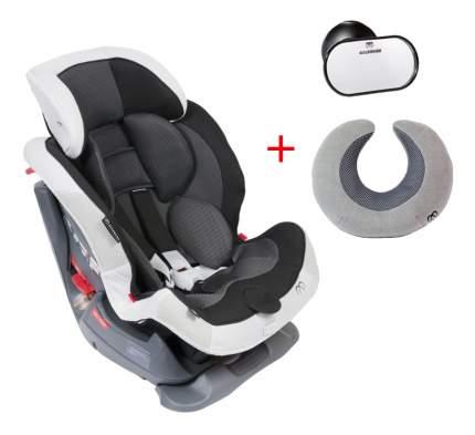 Автокресло Swing Moon Premium 1/2 черно-серое до 25 кг Carmate