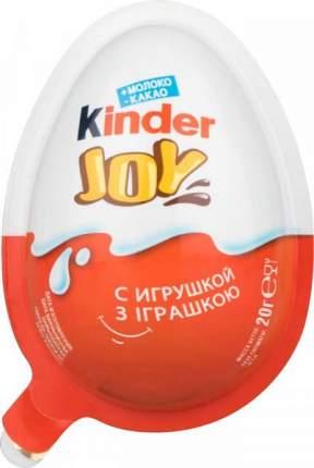 Кондитерское изделие Kinder joy с игрушкой 20 г