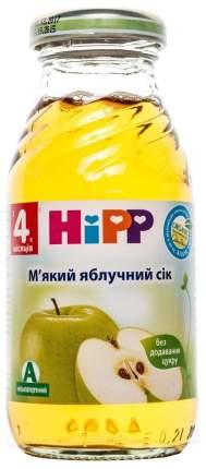 Сок Hipp Яблочный б/с с 4 мес 0,2 л