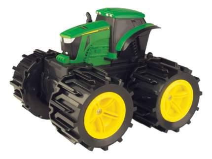 Трактор с большими поворотными колесами Mega Monster Wheels John Deere Т11312