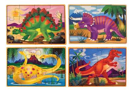 Пазл Melissa & Doug Динозавры