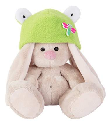 Мягкая игрушка BUDI BASA Зайка Ми в шапке лягушка sidx-147