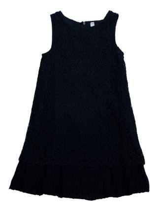 Платье Play Today Золотые искры темно-синее 140 размер