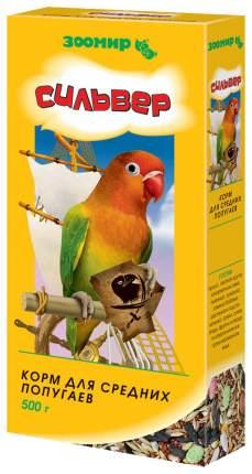 Основной корм Зоомир для попугаев 500 г, 1 шт