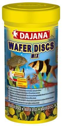 Корм для рыб Dajana WAFERS DISCS MIX, диски, 250 мл