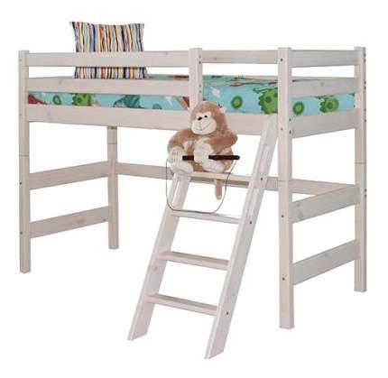 Кровать МебельГрад Полувысокая Соня с наклонной лестницей (вариант 6)