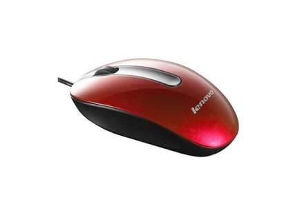 Проводная мышка Lenovo M3803 Red/Grey