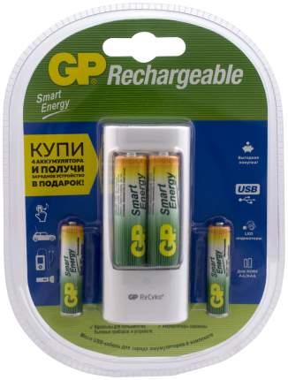 Зарядное устройство + аккумуляторы GP PB211 SMARTENERGY AA/AAA 4 шт. 1000/400 mAh