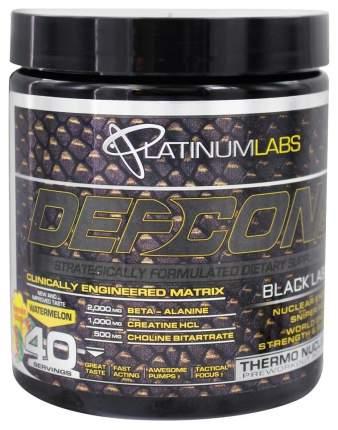 Предтренировочный комплекс Platinum Labs Defcon 1 Black Label 350 г арбуз