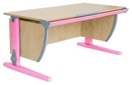 Парта Дэми СУТ 15-02Д с задней, двухъярусной задней и боковой приставками Розовый 120 см