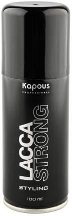 Лак аэрозольный для волос Kapous Professional сильной фиксации, 100 мл