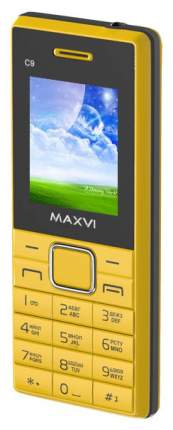 Мобильный телефон Maxvi C9 Yellow/Black