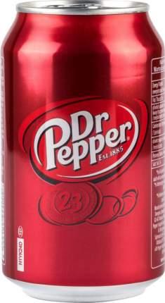 Напиток безалкогольный Dr.Pepper сильногазированный жестяная банка 0.33 л