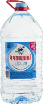 Вода артезианская Черноголовская негазированная пластик 5 л