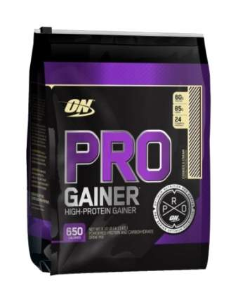 Гейнер Optimum Nutrition Pro Gainer, 4300 г, vanilla custard