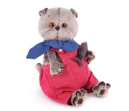 Мягкая игрушка BUDI BASA Ks19-066 Басик в Красном Комбинезоне 19 см