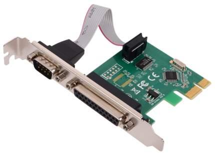 PCI-e контроллер LPT+COM ORIENT XWT-PE1S1PV2 WCH CH382 chipset