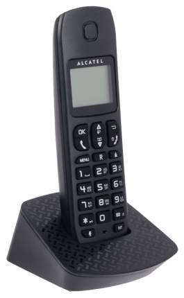Телефон ALCATEL DECT E132 BLACK Caller ID 10 мелодий, Спикерфон
