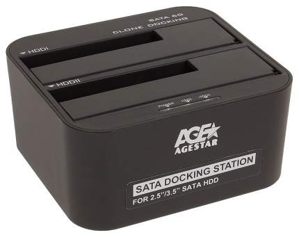 Док-станция для HDD Agestar 3UBT6-6G SATA HDD Черный