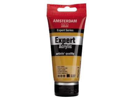 Акриловая краска Royal Talens Amsterdam Expert №227 охра желтая 75 мл