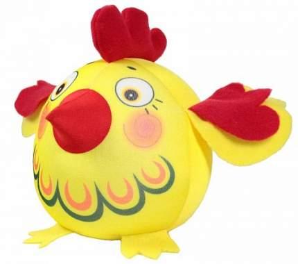 Игрушка-антистресс СПИ Петух-колобок желтый