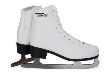 Коньки фигурные Larsen Simple, white, 35 RU