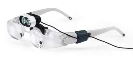Очки-лупа Eschenbach maxDETAIL для работы с мелкими предметами с подсветкой LED 2.0х