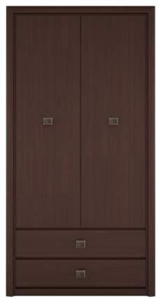 Платяной шкаф BlackRedWhite Коен REG2W2S BRW_70001230 103,5х40х200,5, венге магия