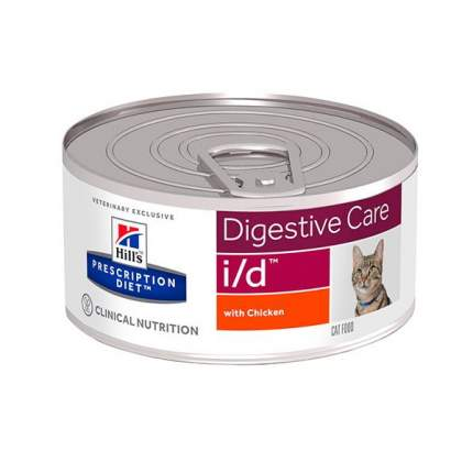 Консервы для кошек Hill's Prescription Diet I/D Gastrointestinal Health Minced, 156г