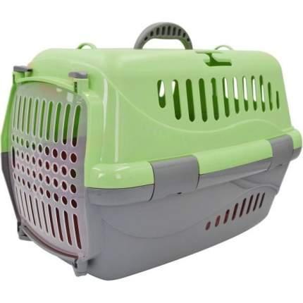 Переноска для животных HOMEPET, зеленая, 48х32х32 см