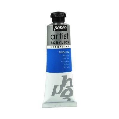 Акриловая краска Pebeo Artist Acrylics extra fine №3 королевский синий 37 мл