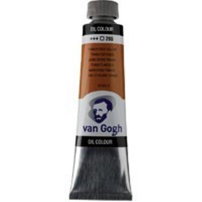 Краска масляная Van Gogh туба 40мл №265 Желтый оксид прозрачный