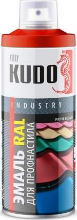 Эмаль KUDO для металлочерепицы RAL 3005 винно-красный
