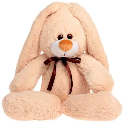 "Мягкая игрушка ""Подарочный заяц"", бежевый, 55 см Princess Love"