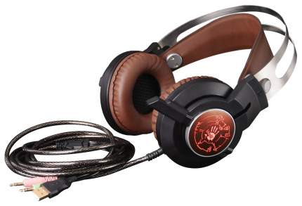 Игровые наушники A4Tech Bloody G430 Black/Brown