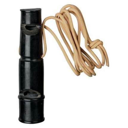 Свисток для собак TRIXIE Buffalo Horn Whistle S, ультразвуковой, из рога буйвола, 6см