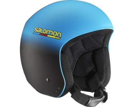 Горнолыжный шлем Salomon X-Race Slab 2016 blue/black mat, L