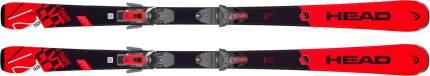 Горные лыжи Head V-Shape V2 SLR 2 Red/Black + SLR 9.0 2019, 163 см