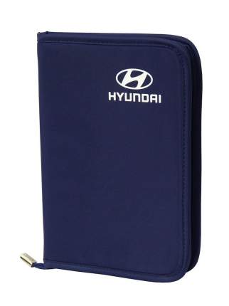 Футляр для автодокументов Hyundai R8480AC400H Blue