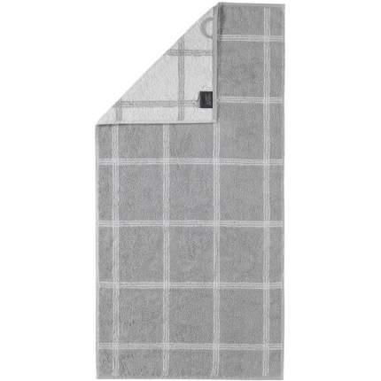 Полотенце 50x100см CAWO TWO-TONE, цвет платиновый