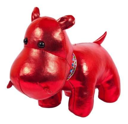 """Мягкая игрушка """"Бегемот"""", цвет: красный, 15 см"""